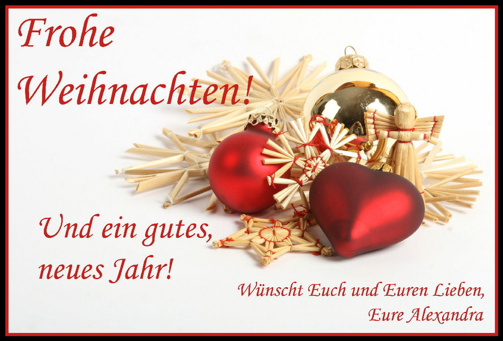 Frohe Weihnachten... Foto & Bild   gratulation und feiertage ...