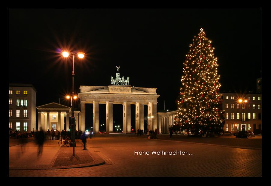 Frohe Weihnachten Berlin.Frohe Weihnachten Foto Bild Gratulation Und Feiertage
