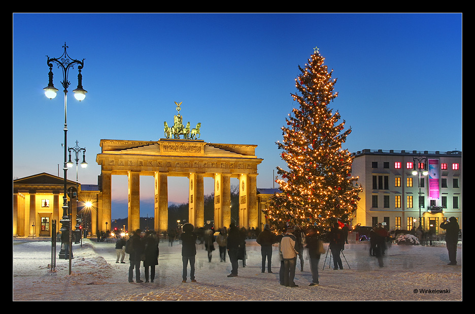 Frohe Weihnachten Berlin.Frohe Weihnachten Aus Berlin Foto Bild Architektur Architektur