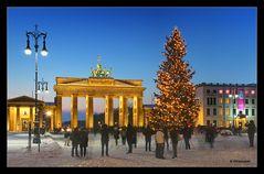Frohe Weihnachten aus Berlin