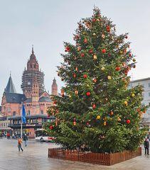 Frohe Weihnachten aus Mainz