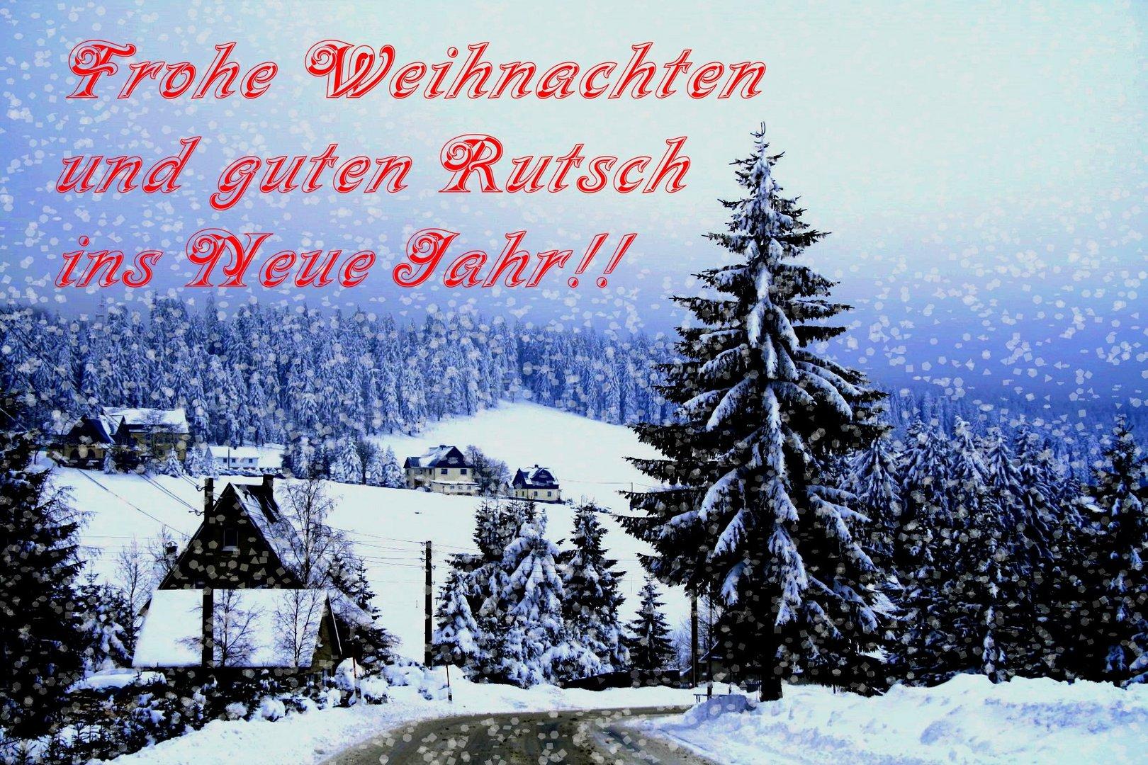 Frohe Weihnachten.........