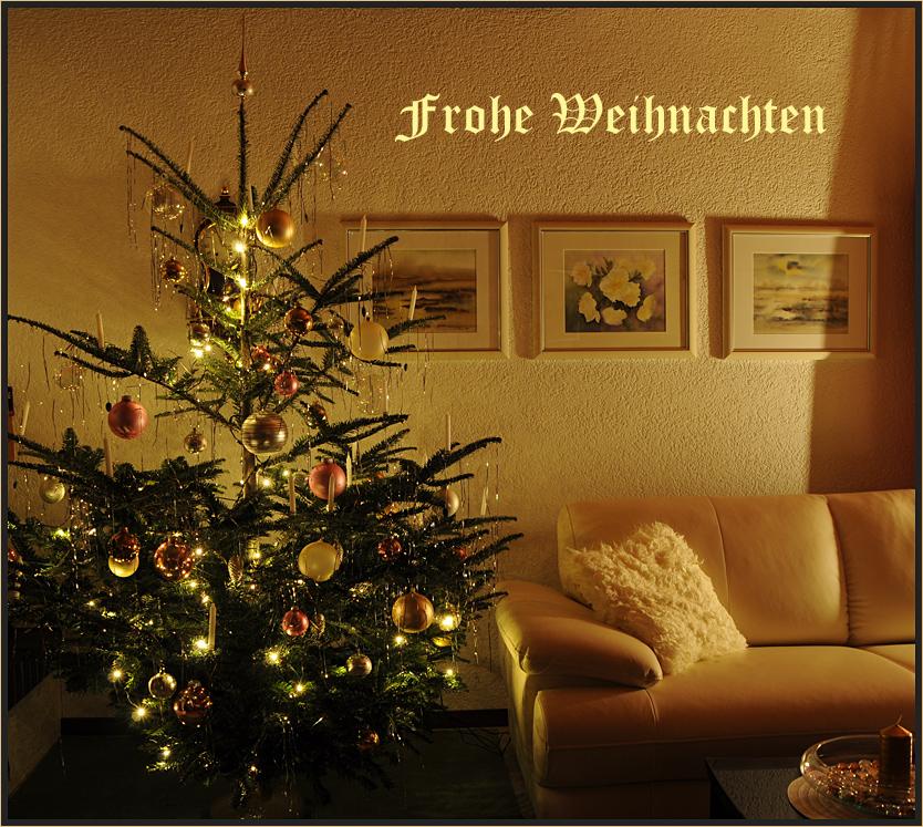 Frohe Weihnachten Euch Allen.Frohe Weihnachten Euch Allen Foto Bild Karten Und Kalender