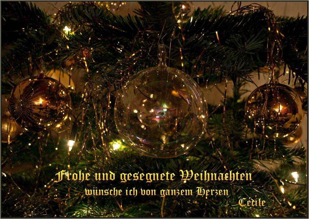 Frohe Weihnachten Euch Allen.Frohe Weihnachten Euch Allen Foto Bild Gratulation Und