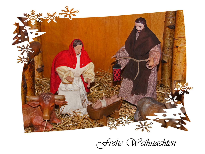 Frohe Weihnachten - Joyeuses Fêtes - Merry Christmas