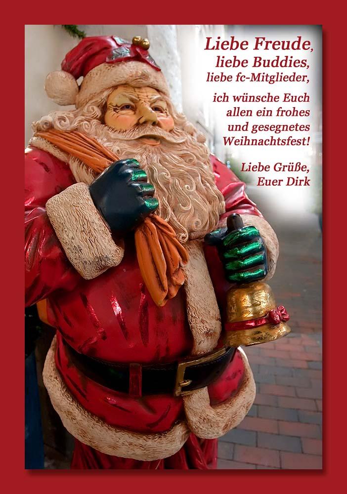 Frohe Weihnachten, meine Freunde! - Bild & Foto von Dirk Rotermundt ...