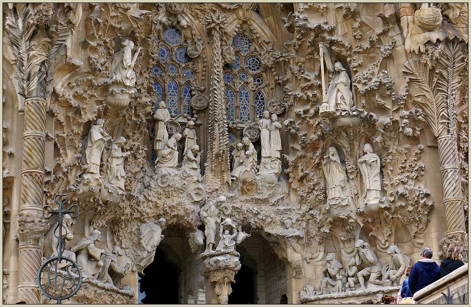 Frohe Weihnachten mit der Sagrada Familia