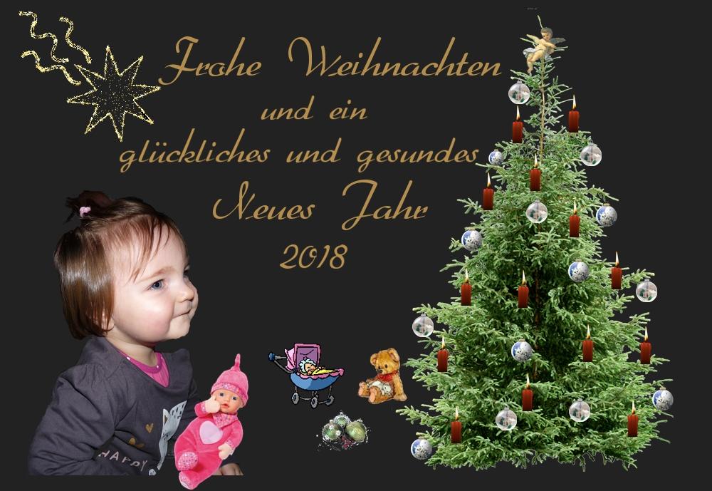 Weihnachtsgrüße Christkind.Frohe Weihnachten Mit Erwartungsvollen Augen Auf Das Christkind