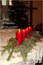 Frohe Weihnachten und ein gesegnetes neues Jahr !