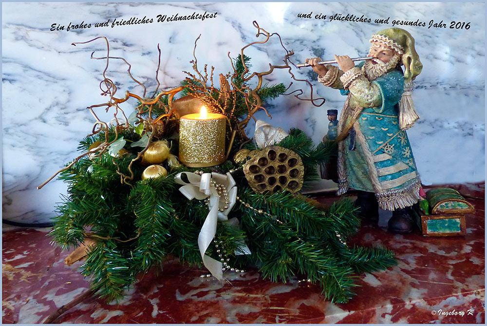Frohe Weihnachten und ein glückliches Jahr 2016