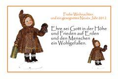 Frohe Weihnachten und ein gutes neues Jahr 2011