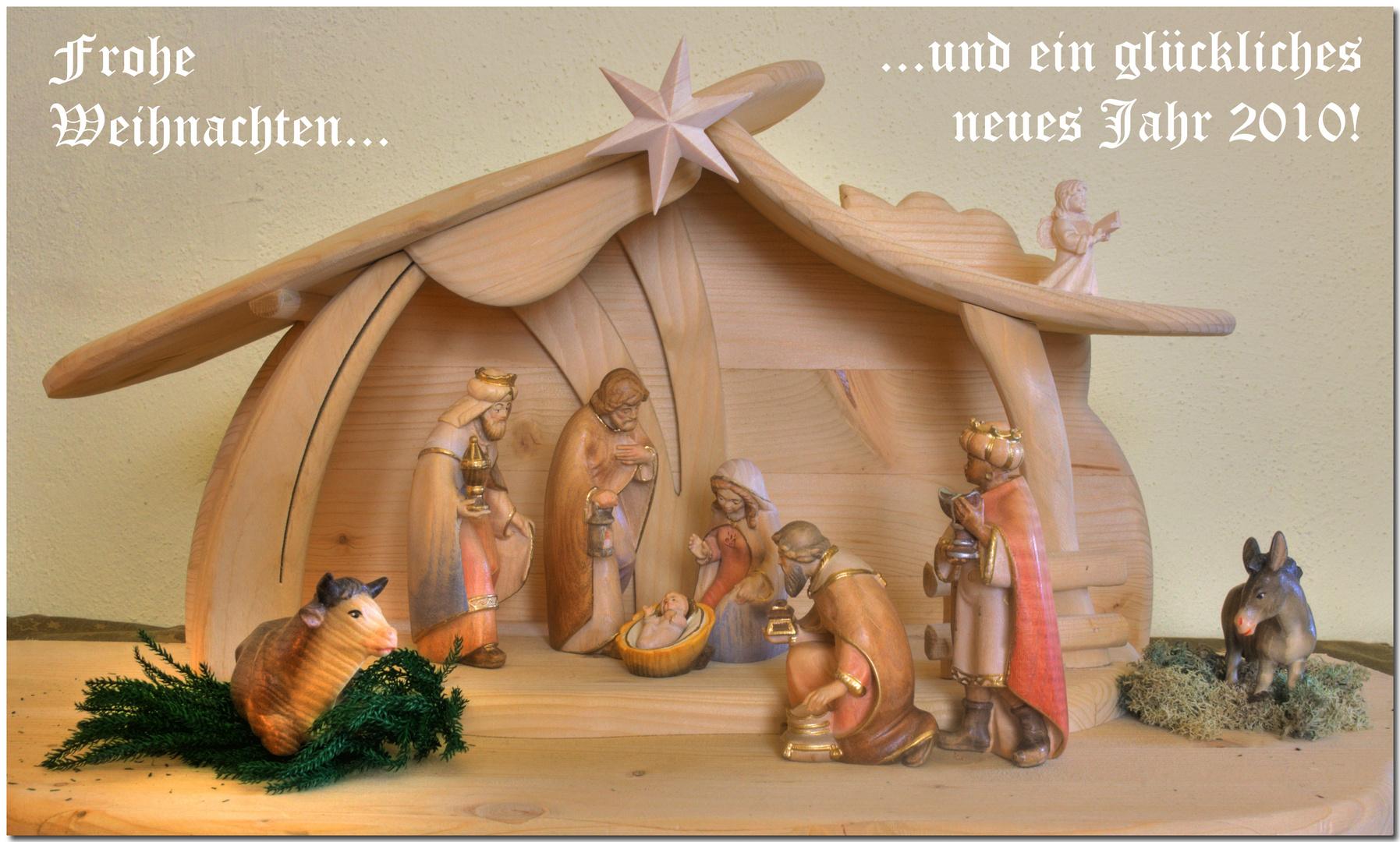 Frohe Weihnachten und ein gutes neues Jahr... Foto & Bild ...