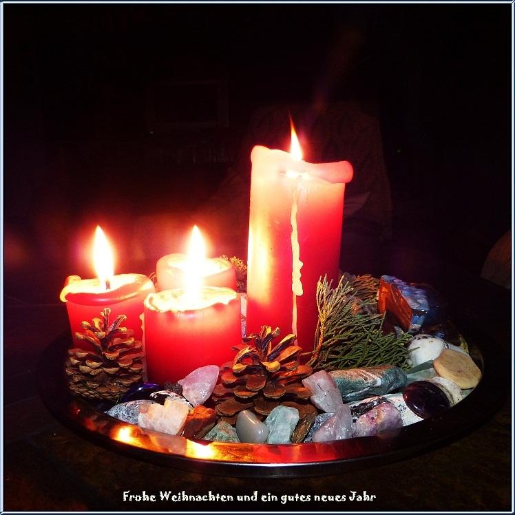 Frohe Weihnachten und ein gutes neues Jahr.......