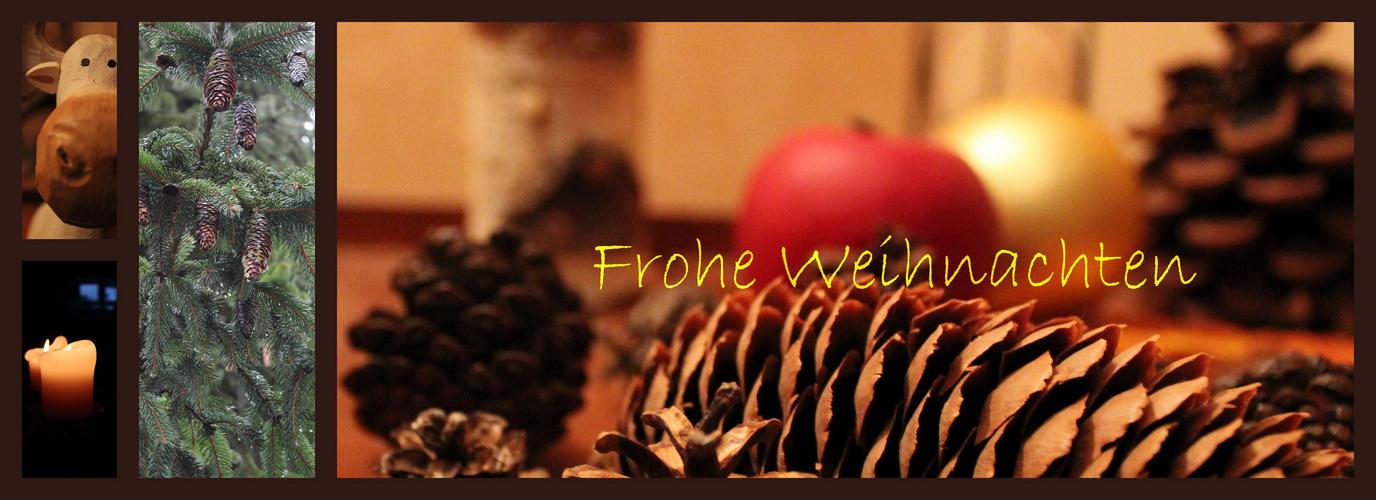 Frohe Weihnachten ... wünscht Euch allen hier ein Neuling :-)