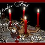 Frohe Weihnachtstage,
