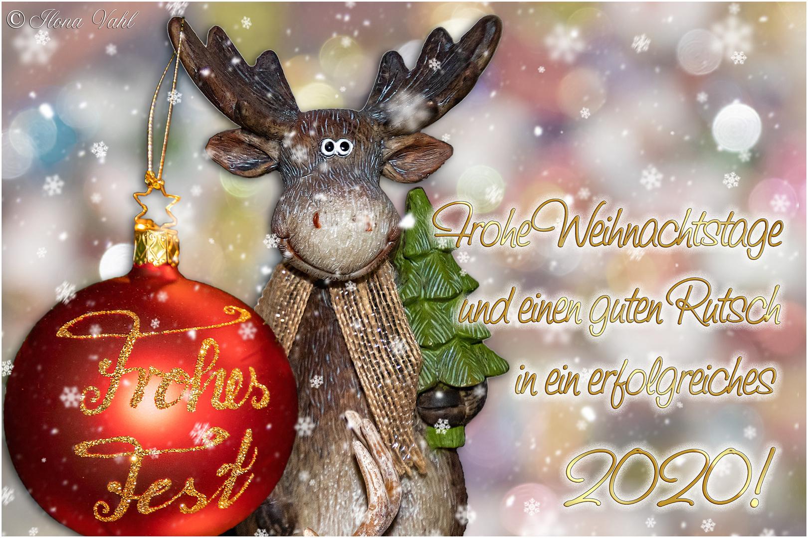 Frohes Fest, meine Lieben!