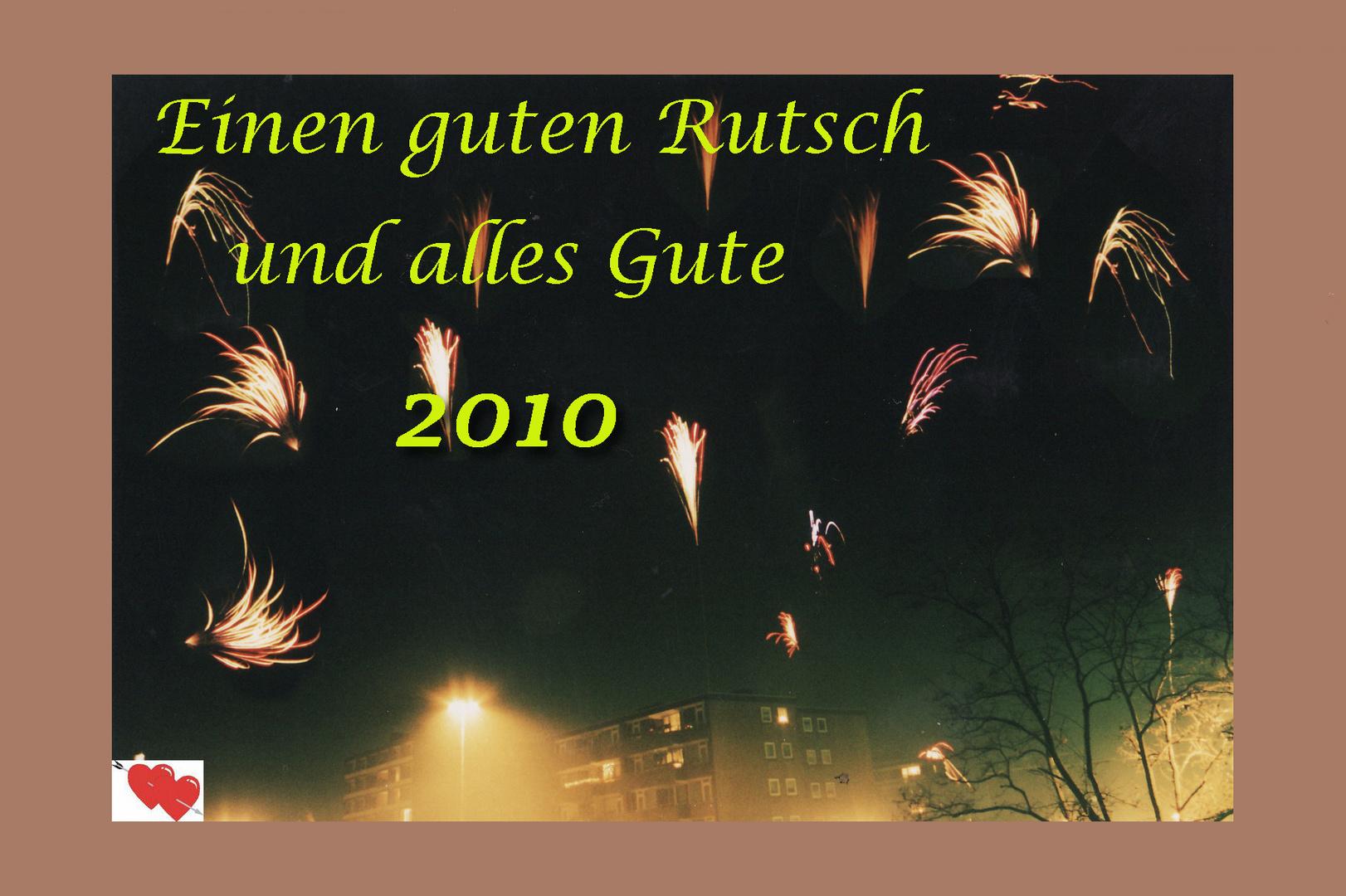Frohes neues Jahr 2010