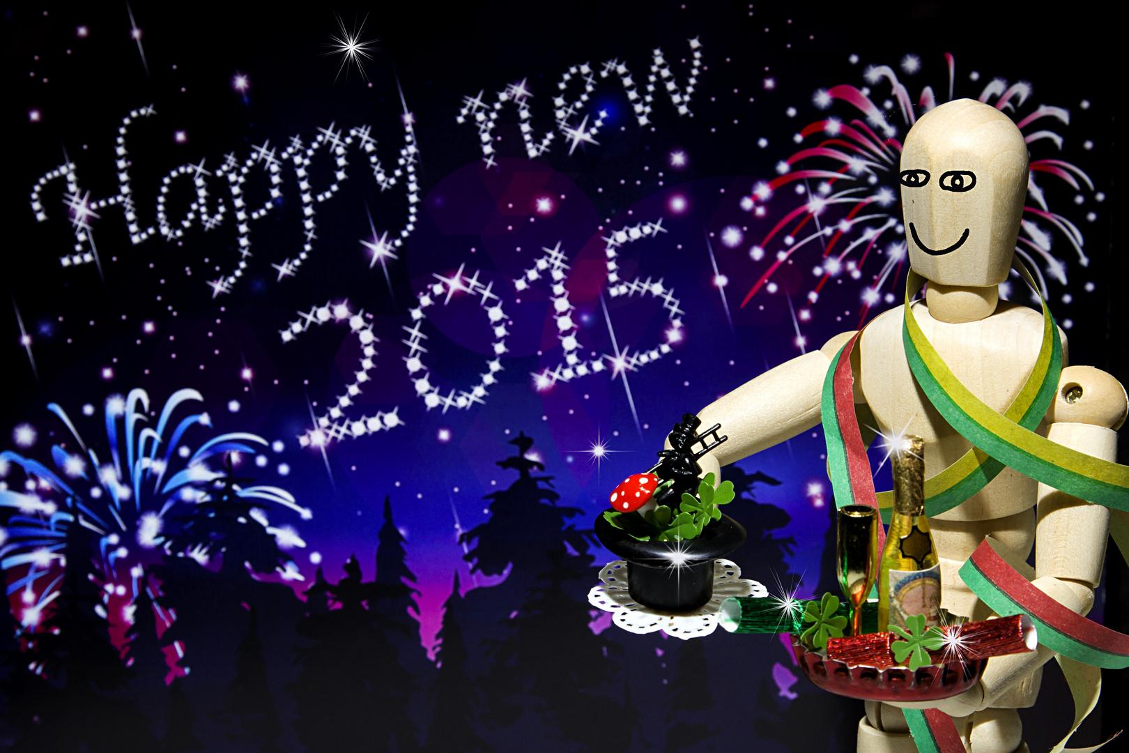 Frohes neues Jahr 2015 ! Foto & Bild | gratulation und feiertage ...