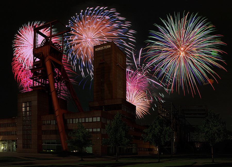 Frohes neues Jahr aus dem Ruhrgebiet...