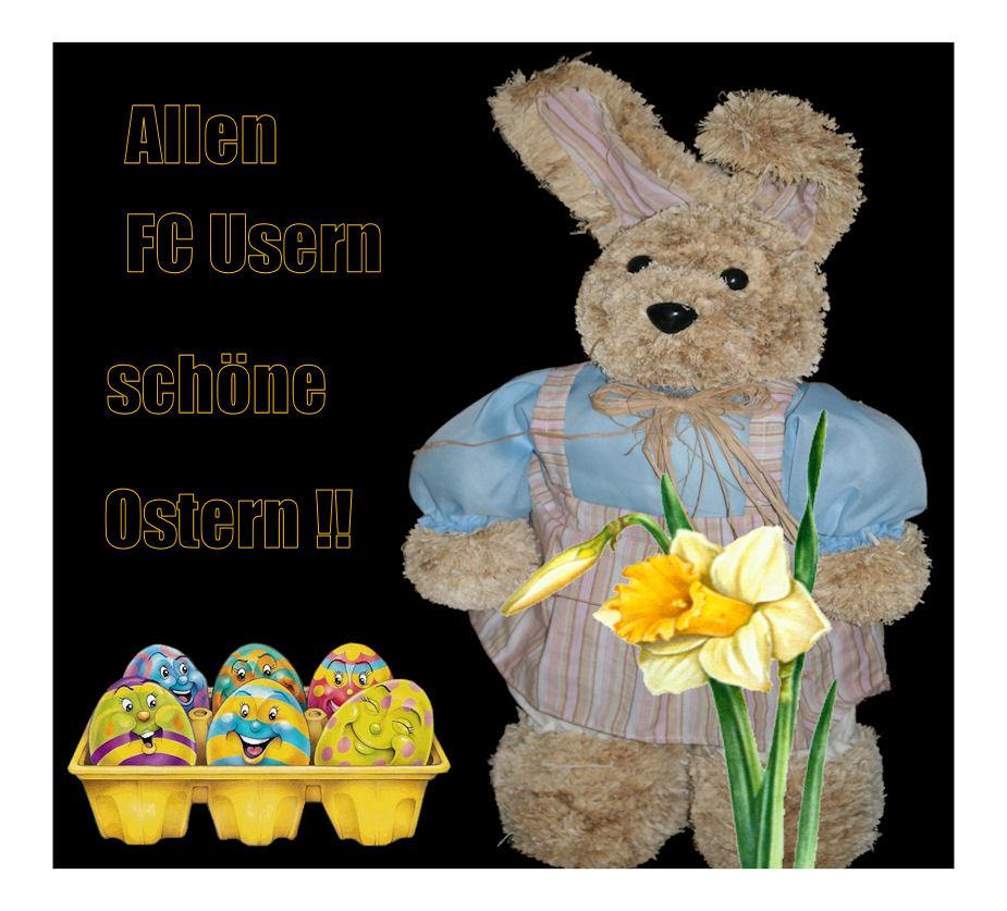 Frohes Osterfest allen FC Usern !