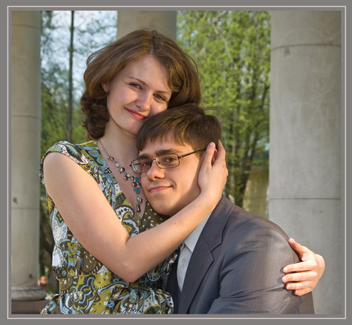 """From """"Love Story Alains and Sergey"""" (a fragment 1)"""