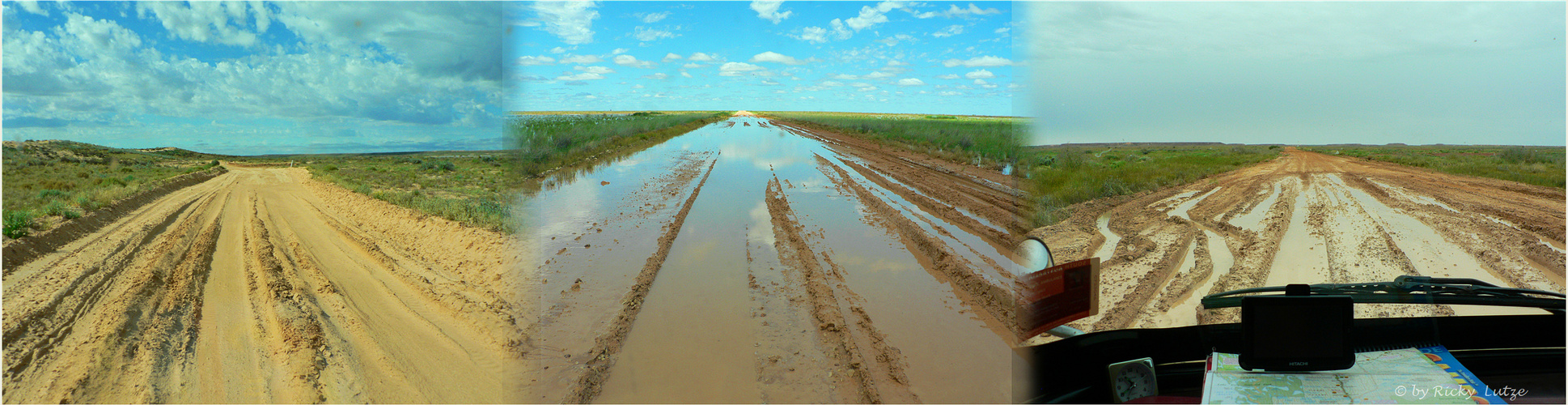 *** From Sand to Water to Mud and more Rain / Birdsville Track ***