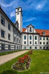 Fronhof mit Pfalzturm