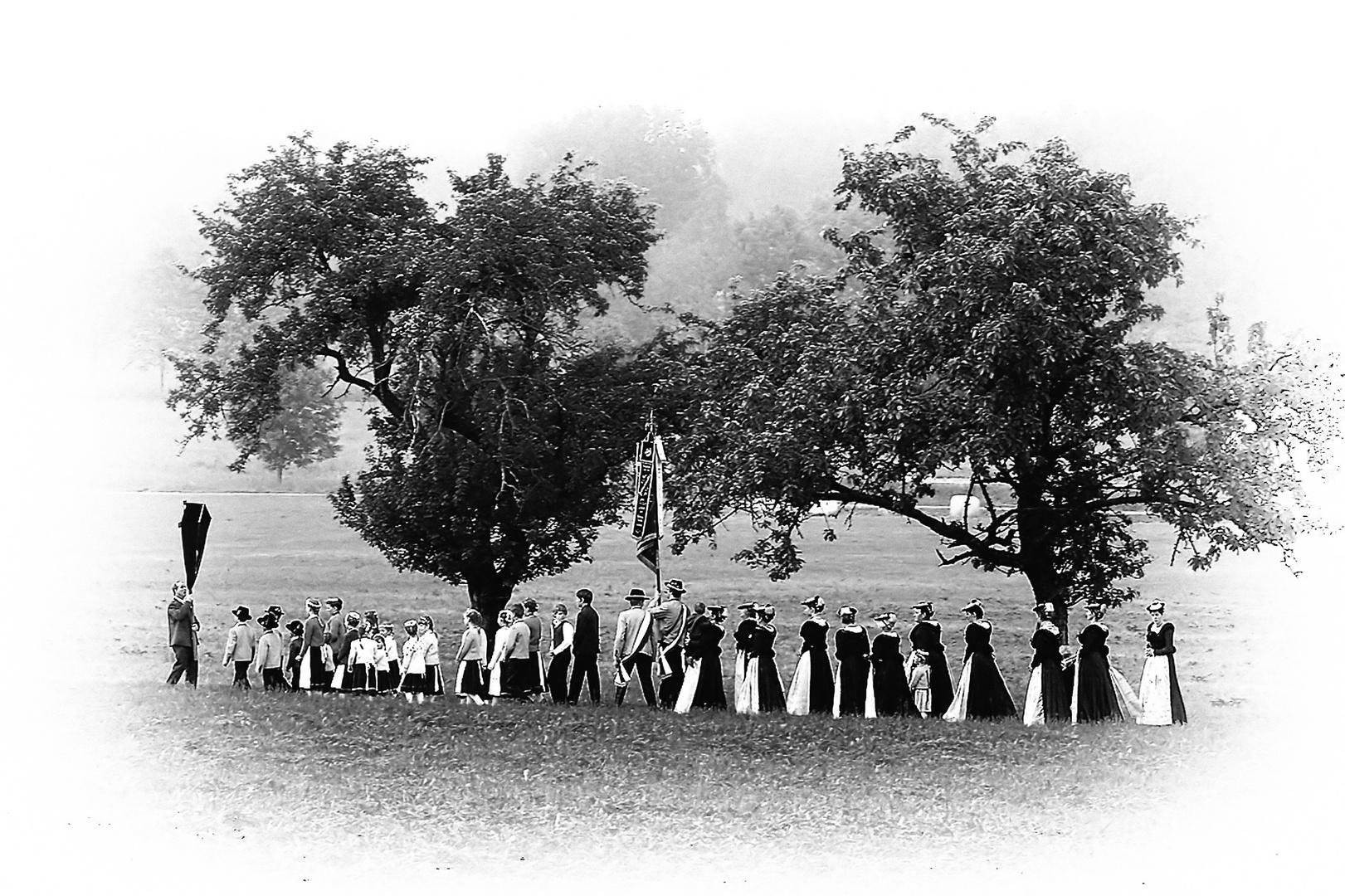 Fronleichnam-Prozession