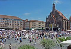 Fronleichnamsfeier 2017 in Nürnberg