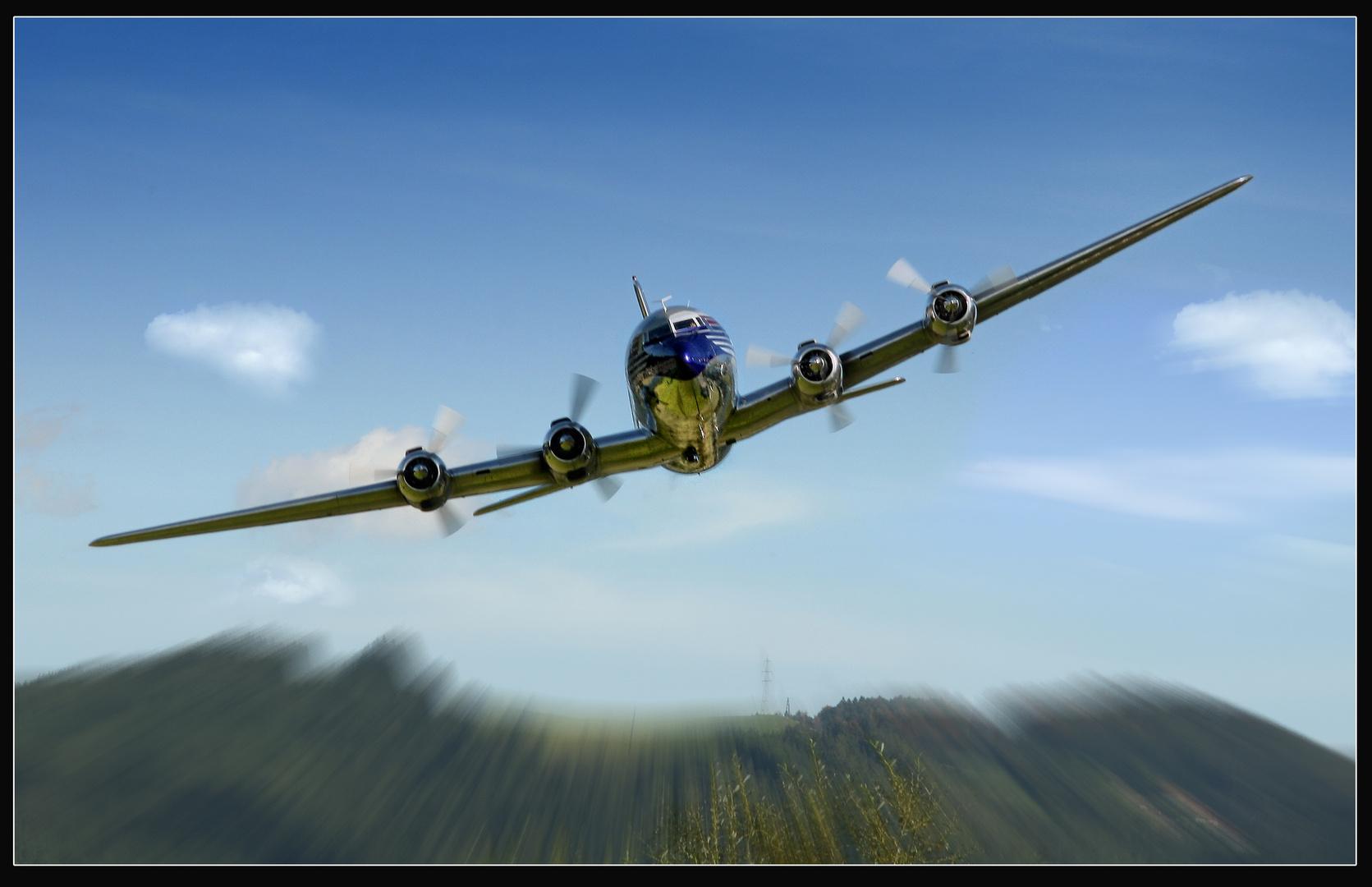 Frontalanflug