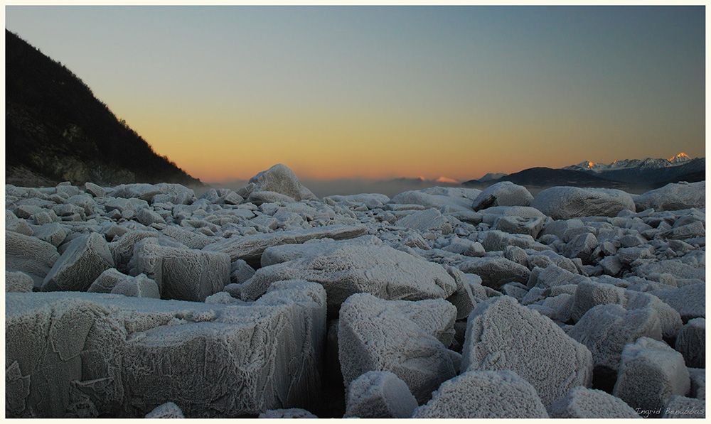 Frost am Ullsfjord