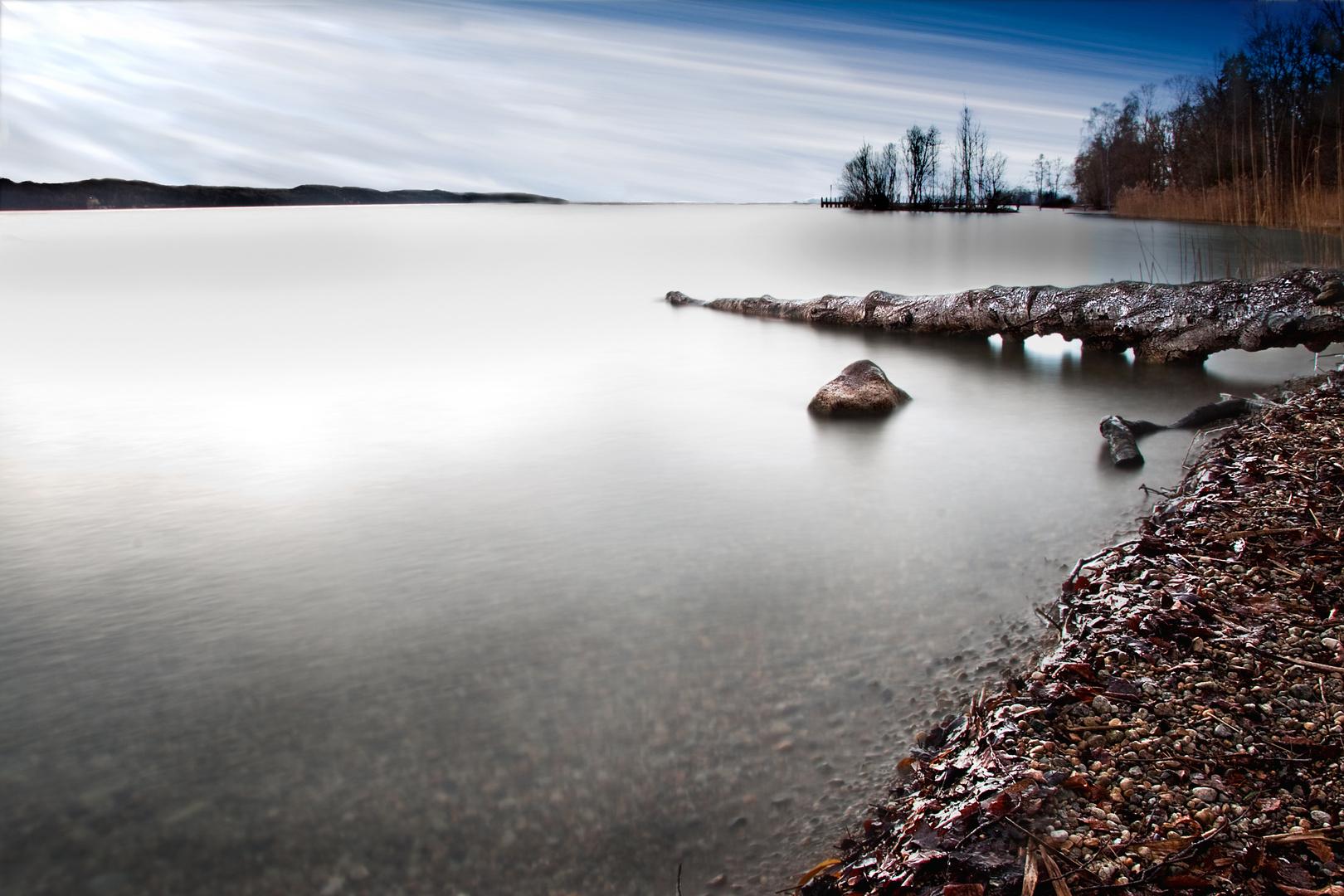 Frostige Winterstille (Starnberger See)