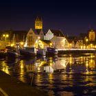 ...Frostiger Hafen Wismar