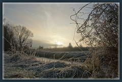 Frostiger Morgen ....