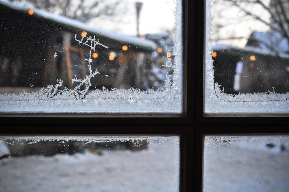 Frostiger Weihnachtsmarkt