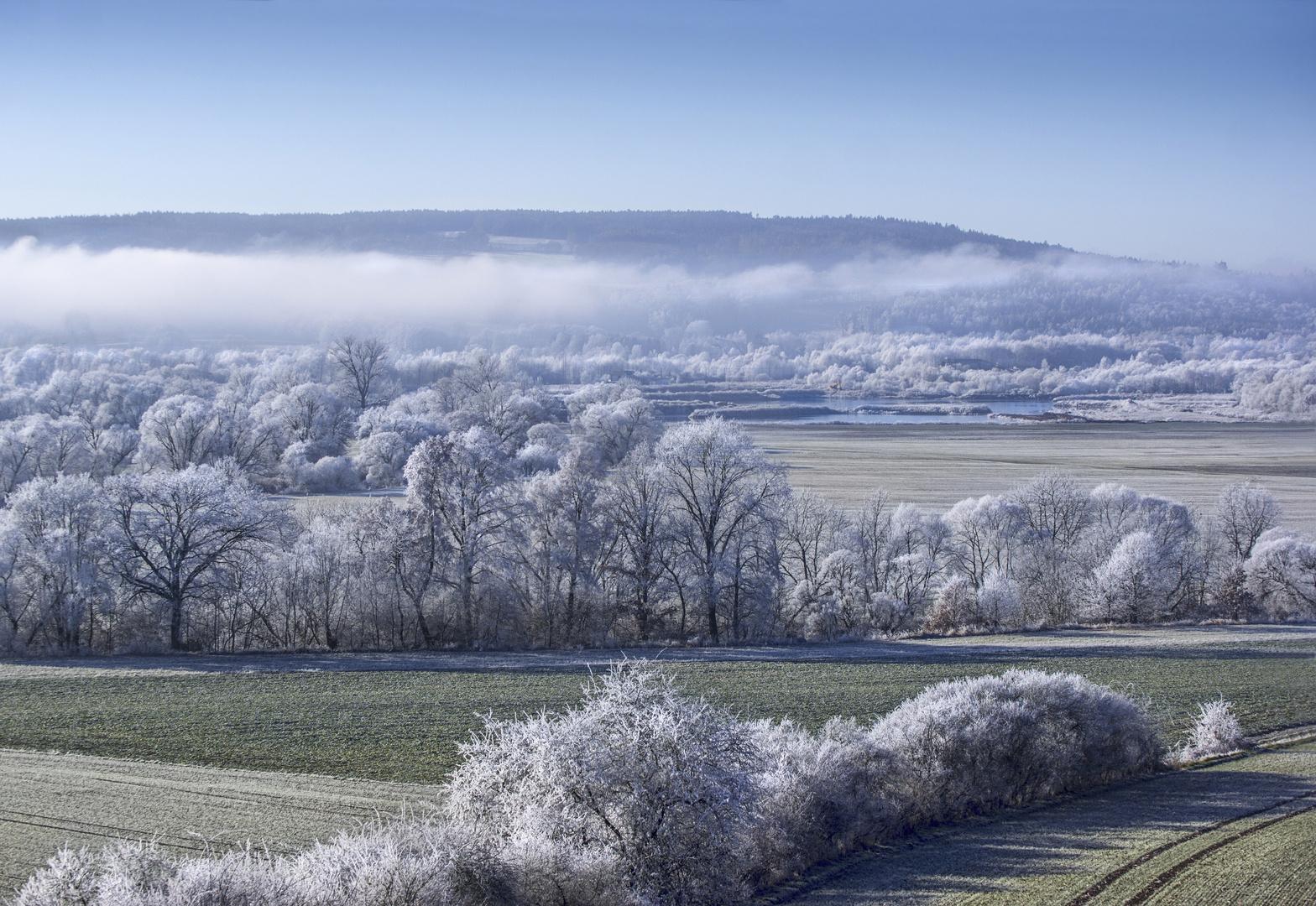 Frostiges Maintal