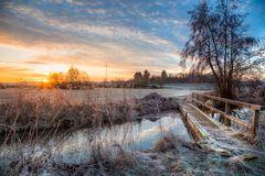 Frostiges Mittelhessen