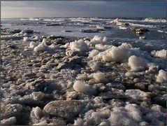 | frozen beach |