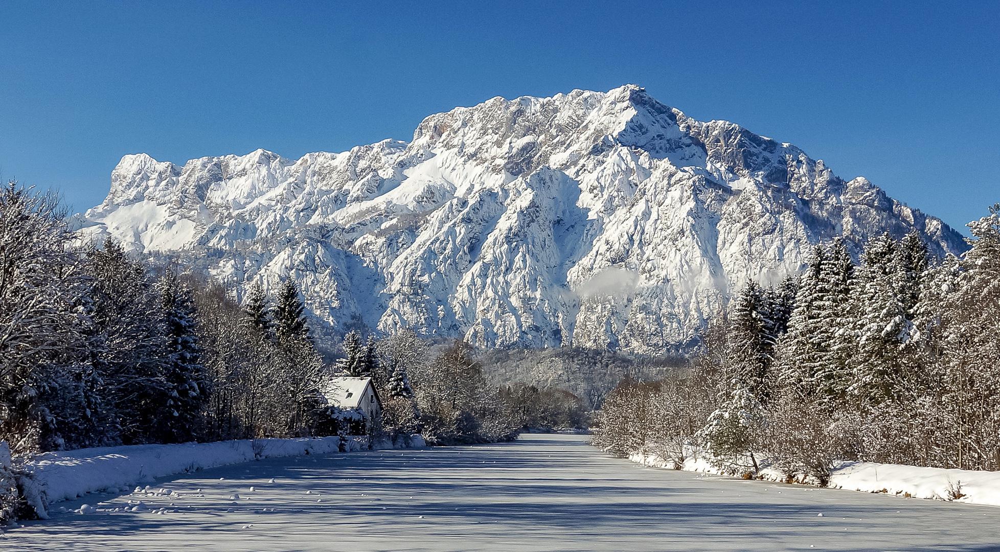 Frozen es wird kalt...Gedanken über die Natur.