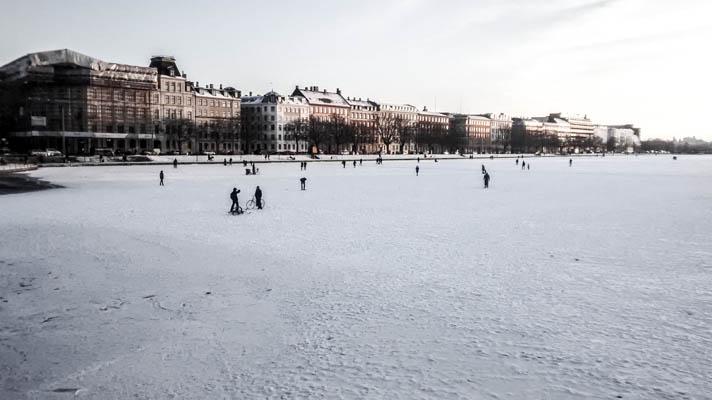 Frozen Lakes Copenhagen