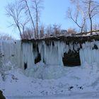 Frozen over Falls