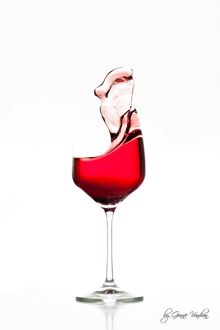 Frozen Red Wine