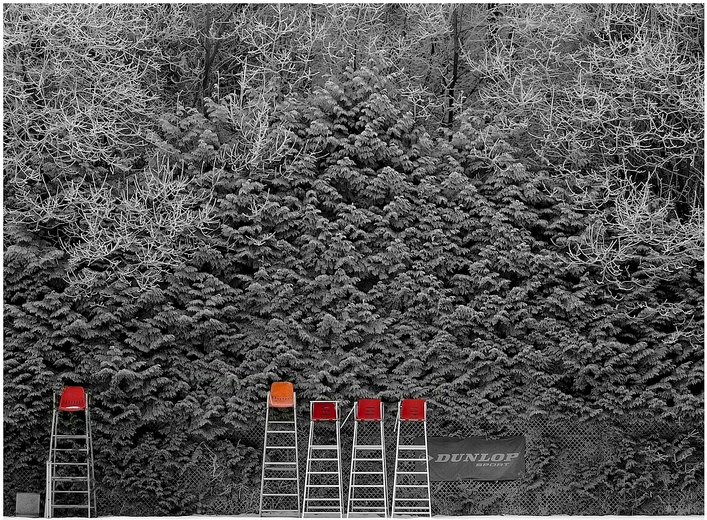frozen umpire chairs