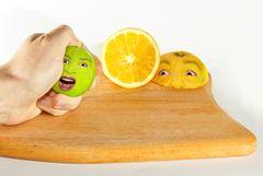 Frucht-Gesichter