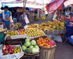 Fruchtmarkt in Danao (Cebu/Philippinen)