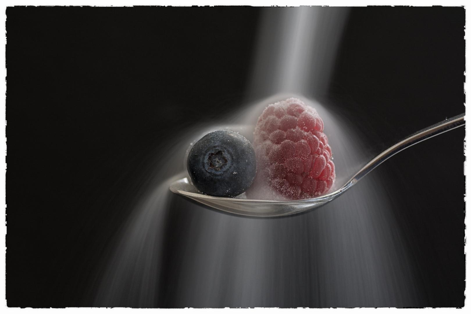 Früchte gezuckert