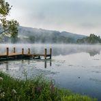 Früh Morgens am Perfstausee....