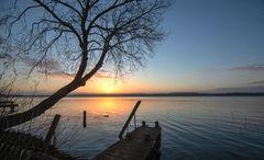 Früh morgens am Ratzeburger See