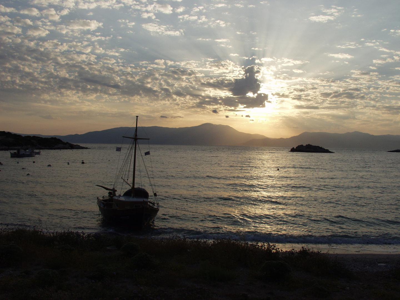früh Morgens am Strand