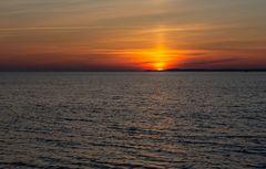 Früh morgens an der Ostseeküste
